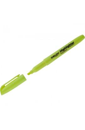 Маркер Highlighter D2503, 2-4 мм клиноп. жовтий