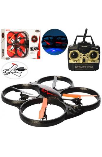 Квадрокоптер X39 (6 шт) р / у, 2,4G, аккум, гіроскоп, USBзарядное, св, пінопласт, 4,5канал, в кор, 5