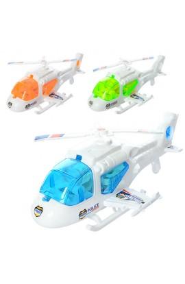 Гелікоптер 6696 заводний, 3 види, світло, кул., 23-13-9 см.