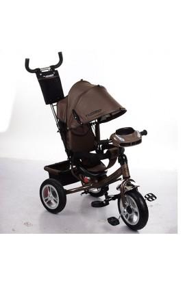 Велосипед M 3113HA-13 3 гум. колеса, колясочний., вільний хід колеса, гальма, пульт, муз., світло, ш