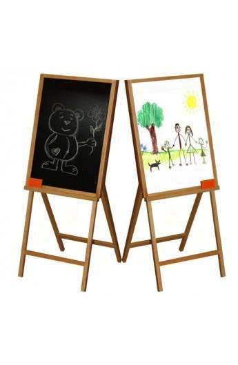 Мольберт для малювання 2-сторон.(60*70*105) ВП-007 Вінні Пух