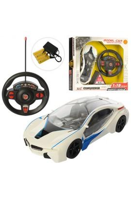 Машина JQ666-14A радіокер., гум. колеса, світло, бат., кор., 36,5-34-8 см.