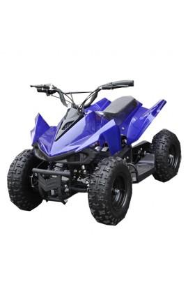 Квадроцикл ATV-6E-4 мотори 500W, 2 акум. 12A/12V, підсвітка, муз., синій, кор.,105-58-64,5 см