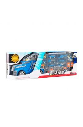 Трейлер LA-015C поліція, транспорт 8 шт., дорожні знаки, кор., 55,5-11-18 см.