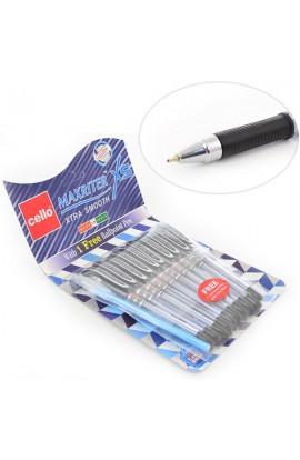 "Ручка шар/масл  ""Maxriter XS "" черная 0,7 мм  ""CELLO """