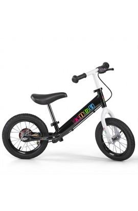 Беговел PROFI KIDS дитячий 12 д. M 3440AB-8 гум. колеса, мет. обід, гальмо, ексцетр., чорний.