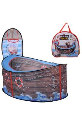 Намет M 3758 манеж, баскетбольне кільце - сітка, на кілочках, сумка, 34-34-5 см.