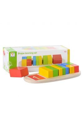Дерев'яна іграшка Геометрика MD 0508 кор., 29-9,5-6,5 см