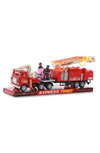 Машина пожежна W 128 P інерц., бліст., 35 см