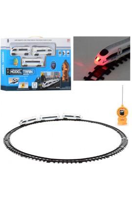 ЗД PYE5 радіокер., локомотив, вагон 2 шт., світло, бат., кор., 59,5-31-5,5 см.