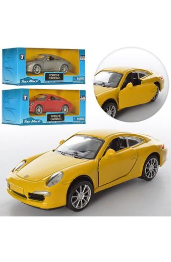 Машинка TOP 305 мет., інерц., відчин. двері і капот, 3 кольори, кор., 16-7,5-7 см.