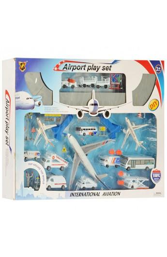 Аеропорт С 116 транспорт, дорожні знаки, фігурка, кор., 71,5-51-9 см