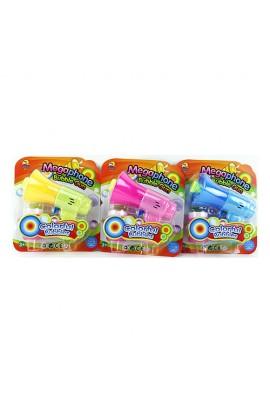Мильні бульбашки 921 пістолет, запаска, 3 кольори, лист, 17,5-20-7 см.