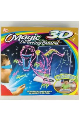 """Чарівна 3D дошка для малювання  """"Малюємо світлом. Космос """""""