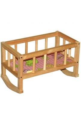 Ліжечко дерев'яне (44*24*28)  ВП-002 Вінні Пух