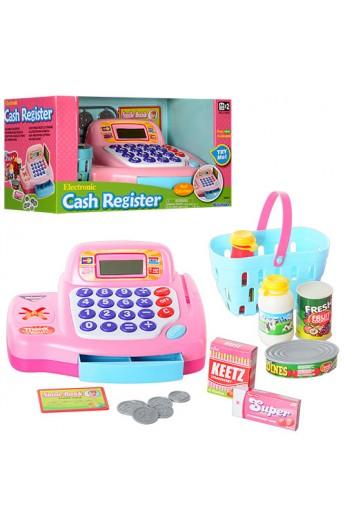 Касовий апарат 30262 аксесуари, продукти, калькулятор, муз., бат., кор.,31-17-18 см