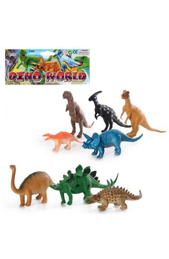 Динозавр 283 8 шт., кул., 19,5-34-3 см