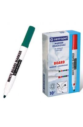 Маркер Board 8559 круглий зеленый, Centropen