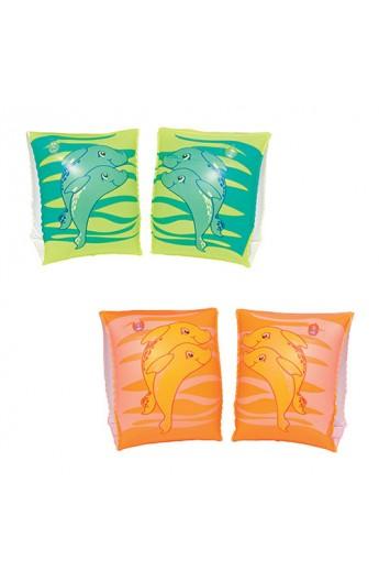 Нарукавники BW 32042 дельфін, 23-15 см, 2 кольори, кор.