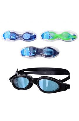Окуляри для плавання 55699 9 кольорів, 3 види (55693,55691,55692), проф. серія, кор., 18,5-5,5-5 см