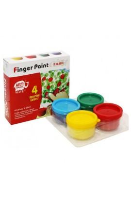 RFC0435 Краски для пальцев Josef Otten 4цв * 35 ml