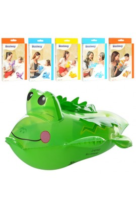 Іграшки надувні BW 34030 6 видів (рибки, качечка, крокодил, дельфін, кит, тюлень), кор., 12-19,5-2 с