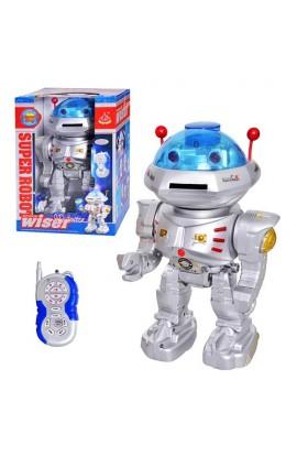 Робот 28072 радіокер., стріляє дисками, муз., світло, бат., кор., 32 см