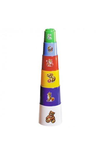 Іграшка пірамідка  Пасочки з відром ТехноК