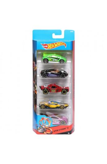 Набір із 5 машинок (в ас.) Hot Wheels (50 шт. у дисплеї)