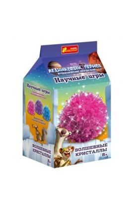"""0274 Набір для дослідів  """"Чарівні кристали. Рожевий. Льодовиковий період. """" 12177006Р"""