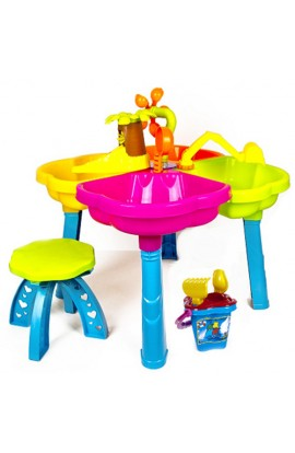 Песочный столик с набором, стульчиком 01-121 Киндервей
