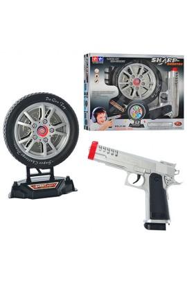 Пістолет 2148 мішень у вигляді колеса, муз., світло, бат., кор., 31-26-6 см