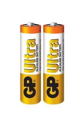 Батарейка GP ULTRA ALKALINE 1.5V 15AU-S2 (лужна, LR6, AA)