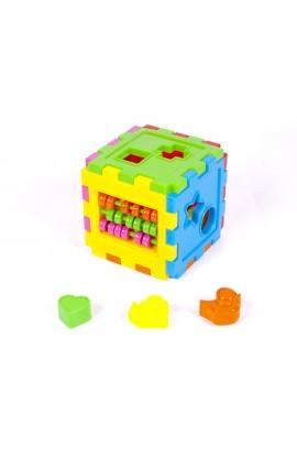 Логический куб-сортер, со счетами 50-201 Киндервей