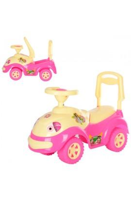 Машинка для катання ЛУНОХОДІК рожева ОРІОН 174