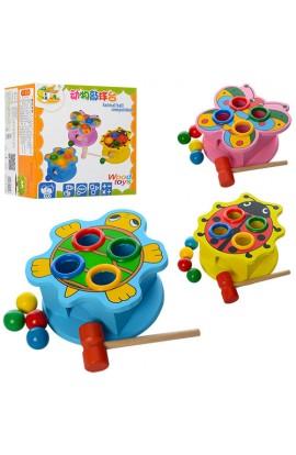 Дерев'яна іграшка Стукалка MD 0045