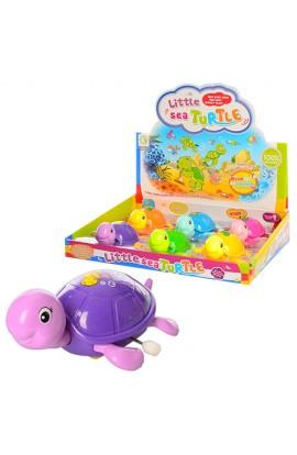 Заводна іграшка 653 (216шт) черепаха, 6шт  дисп., 30,5-25,5-6см