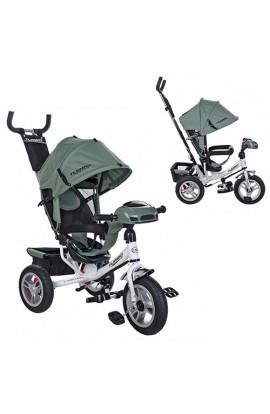 Велосипед M 3115HA-17 три гум. колеса (12/10) колясочний, вільний хід кол, гальм. підшип., муз., сві