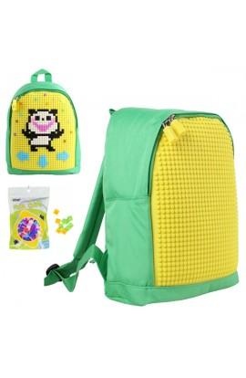 Рюкзак Upixel Junior-Зелено-жовтий