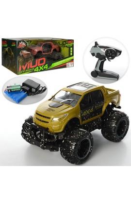 Джип 333-MUD01B радіокер., акум., гумові колеса, 2 кольори, кор., 46-25,5-19 см.