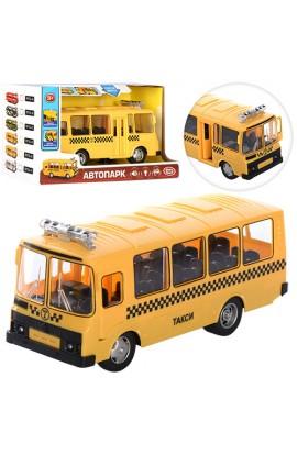 Автобус 9714E інерц., двері відчин., муз., світло, бат. (таб.), кор., 24-9,5-13,5 см.