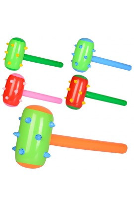Надувна іграшка MSW 004 молоток, мікс кольорів, кул., 14-15-1,5 см.
