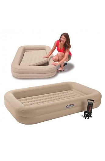 Велюр ліжко 66810 борти, ручний насос, 107-168-25 см