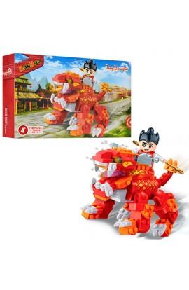 Конструктор BANBAO 6610 Китайський дракон, фігурка воїна, 158 дет., кор., 23-15-5 см