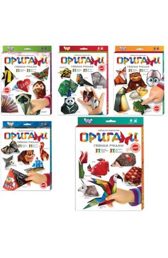 Набір для творчості  Оригами , Ор-01-01,02,03,04,05