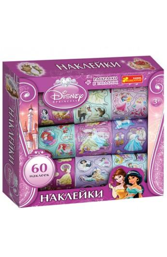 """5921 Наліпки у коробці Дісней """"Принцеси 2"""" 14153105"""