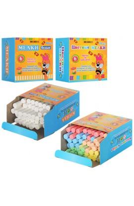 Крейда MK 0091-1 48 шт., 5 кольорів, 5 г, кор., 8,5-8-5 см