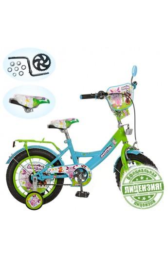 Купити Велосипед дитячий 12 LT 0050-01 зелено-блакитний ❀ Ціна   1 ... daf8fc67e656e