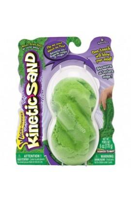 Пісок для дитячої творчості  KINETIC SAND NEON (зелений - 170 г)