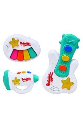 Музичний інструмент 31941, 3 вида,  муз., світло, бат., диспл.
